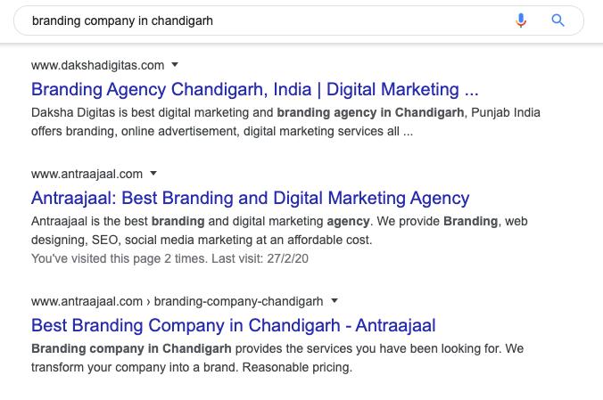 SEO Agency Chandigarh